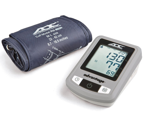 ADC Advantage Automatic Digital Blood Pressure Monitor, Adult, Navy