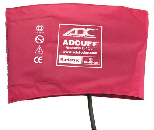 ADC Bariatric Adcuff Sphyg Cuff, 1 Tube, Burgundy