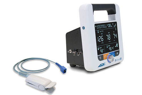 ADC AdView 2 Diagnostic Station, w/ Blood Pressure and Pulse Oximetry Modules