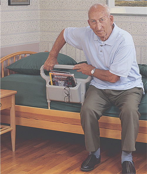 Single-handle bed assist