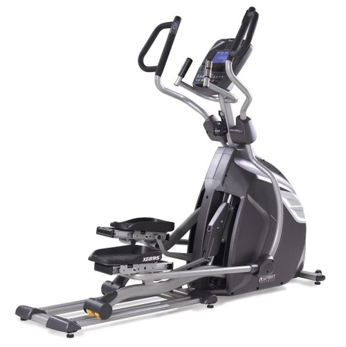 "Spirit XE895 Elliptical, 84"" x 32"" x 70"""