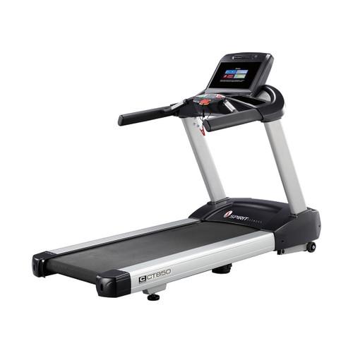 "Spirit CT850ENT Treadmill, 84"" x 35"" x 57"""