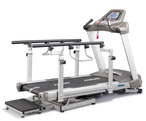 "Spirit MT200 Bi-Directional Incline/Decline Treadmill, 57"" x 30"" x 57"""