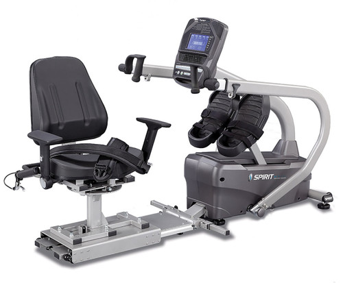 "Spirit MS350 Semi-Recumbent Total Body Stepper, 81"" x 34"" x 47"""