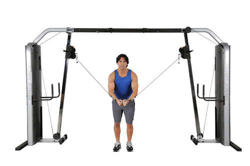 Inflight Cable Cross-Over w/Monkey Bar Crossbeam with REAR Shrouds only