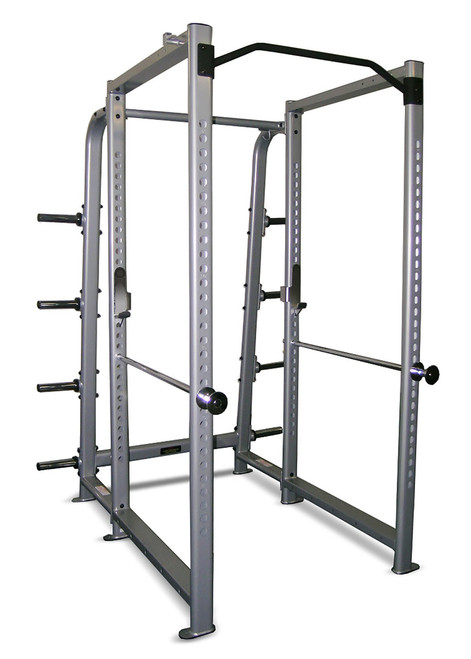 Inflight Intimidator 8 Foot Power Rack - BASICÊ 8 Foot Power Rack with Upper Band Pegs - No Plate Storage