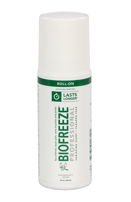 BioFreeze Professional Lotion - 3 oz roll-on, box of 12