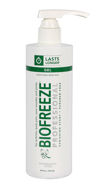 BioFreeze Professional Lotion - 16 oz dispenser bottle, case of 24