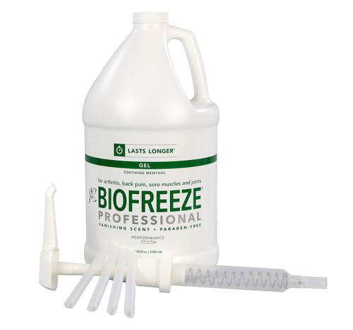 BioFreeze Professional Lotion - one gallon dispenser, case of 4