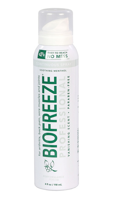 BioFreeze Professional CryoSpray - 4 oz patient size, case of 144