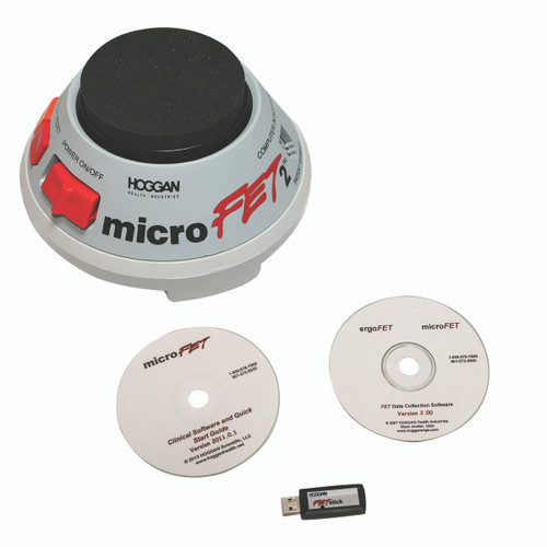 MicroFET2ª MMT - Wireless with Clinical and FET data collection software packages