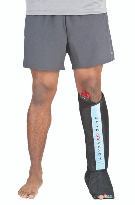 Game Ready¨ Wrap - Lower Extremity - Half Leg Boot - Large
