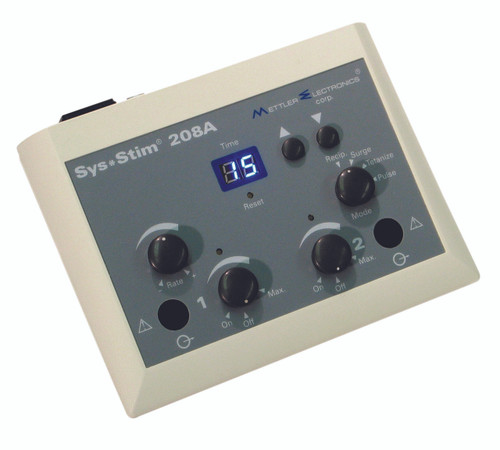 Mettler¨ Sys*Stim 208A portable two channel muscle Stimulator