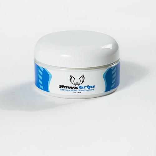 HawkGrips Fragrance Free Emollient, 5 jar pack