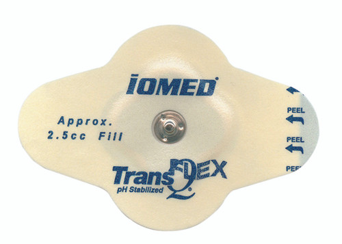 IOMED¨ disposable electrodes - TransQ Flex, 2.55cc, pack of 12