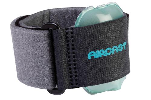 Pneumatic Armband for tennis elbow - black