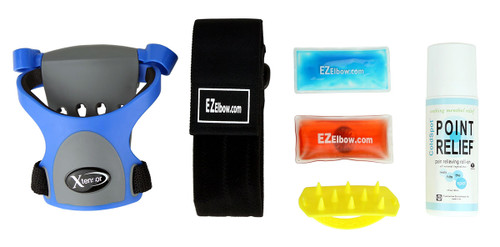 EZ Elbowª Armband - Pro Tennis Elbow Rehab Kit