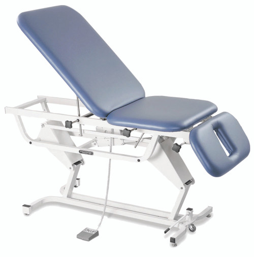 "Adapta¨ ADP 300 treatment table, hi-low, 75"" L x 28""W x 18"" - 38"" H, 3-section, castors"