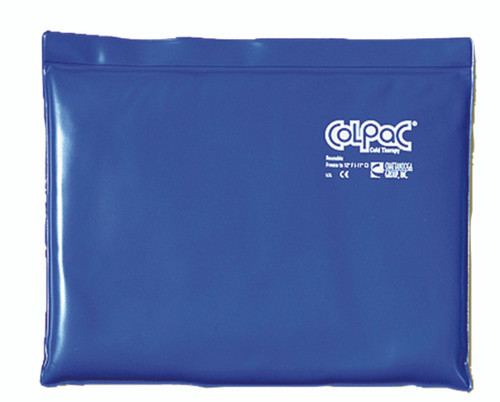 """ColPaC Blue Vinyl Cold Pack - standard - 11"""" x 14"""" - Case of 12"""