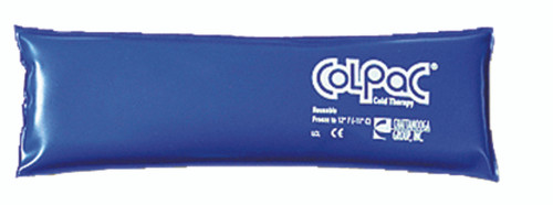 "ColPaC Blue Vinyl Cold Pack - throat - 3"" x 11"""