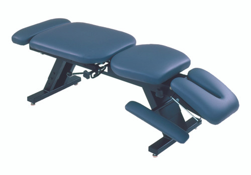 "ErgoBasicª treatment table - hi-low, 80"" L x 30"" W x 18"" - 24"" H, 6-section, soft foam top"