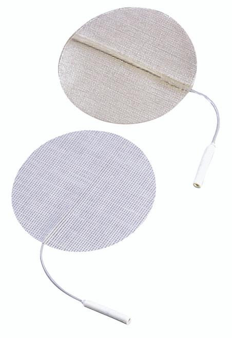 "Dura-Stick¨ Premium Electrode, 2.0"" Round, stainless steel mesh, 40/pack"
