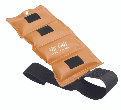 The Cuff¨ Original Ankle and Wrist Weight - 3 lb - Gold