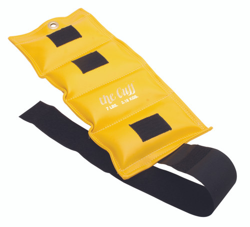 The Cuff¨ Original Ankle and Wrist Weight - 7 lb - Lemon