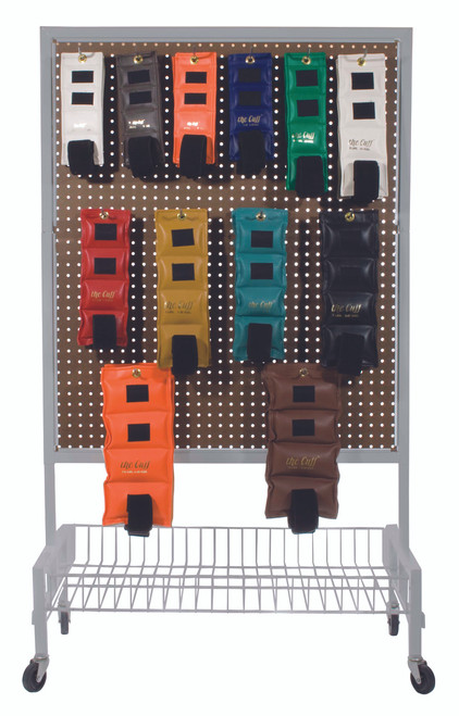 The Cuff¨ Original Ankle and Wrist Weight - 24 Piece Set with Rack - 2 each .25, .5, .75, 1, 1.5, 2, 2.5, 3, 4, 5, 7.5, 10 lb