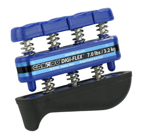 CanDo¨ Digi-Flex¨ hand exerciser - Blue, heavy - Finger (7.0 lb) / hand (23.0 lb)