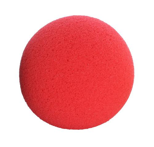 "CanDo¨ Memory Foam Squeeze Ball - 3.0"" diameter - Red, easy"