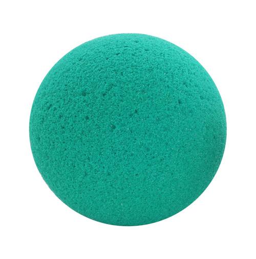"CanDo¨ Memory Foam Squeeze Ball - 3.5"" diameter - Green, medium"