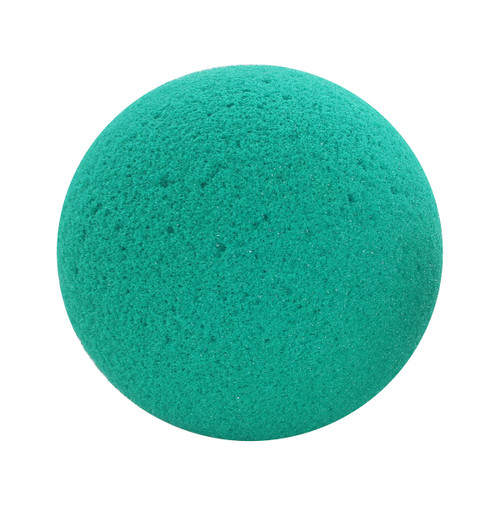 "CanDo¨ Memory Foam Squeeze Ball - 3.5"" diameter - Green, medium, dozen"