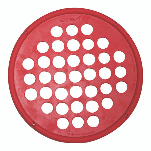 """CanDo¨ Hand Exercise Web - Latex Free - 7"""" Diameter - Red - Light"""