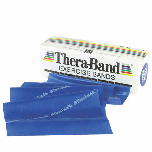 TheraBand¨ exercise band - 6 yard roll - Blue - extra heavy
