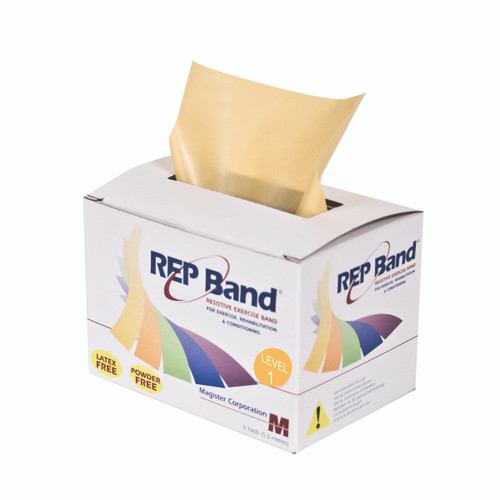 REP Band¨ exercise band - latex free - 6 yard - peach, level 1