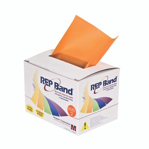 REP Band¨ exercise band - latex free - 6 yard - orange, level 2