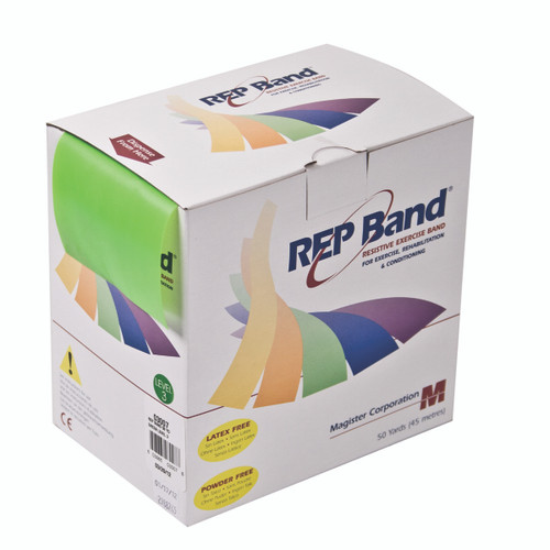 REP Band¨ exercise band - latex free - 50 yard - lime, level 3