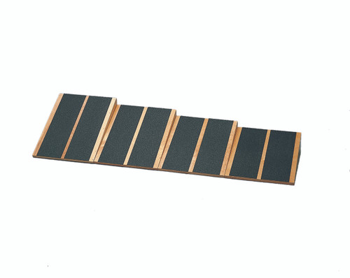 "Incline Board - fixed-level Wooden - 4 Boards: 15, 20, 25, 30 Degree Elevation - 16.25"" x 15"" Surface"