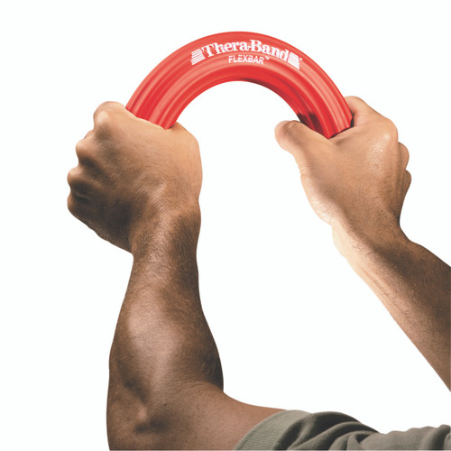 TheraBand¨ Flexbar¨ resistance bar - Red, light