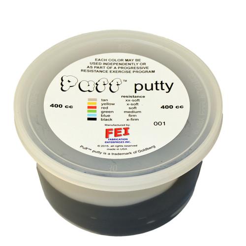 Puff LiTEª Exercise Putty - x-firm - black - 400cc