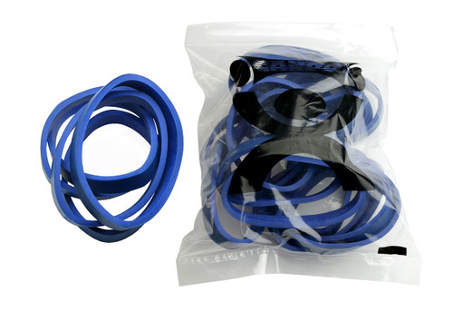 CanDo¨ Hand Exerciser - Additional Latex Free Bands - Blue - Heavy - 25 Bands Only