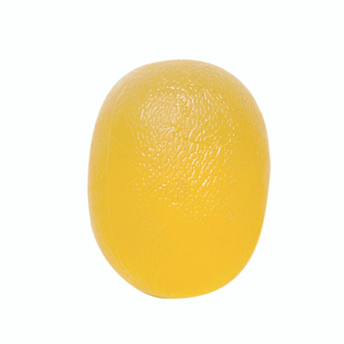 CanDo¨ Gel Squeeze Ball - Large Cylindrical - Yellow - X-Light