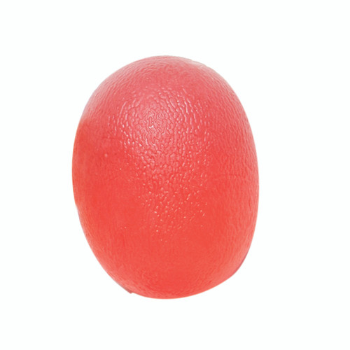 CanDo¨ Gel Squeeze Ball - Large Cylindrical - Red - Light