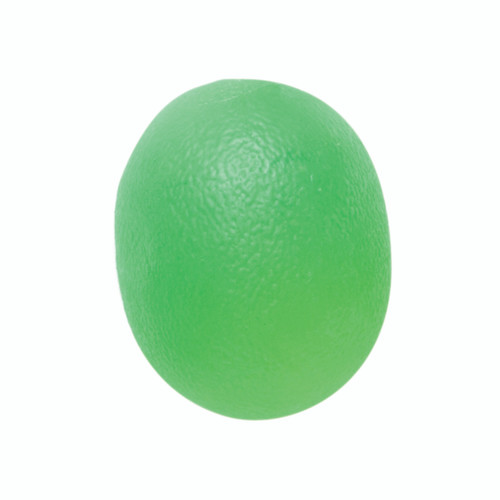 CanDo¨ Gel Squeeze Ball - Large Cylindrical - Green - Medium