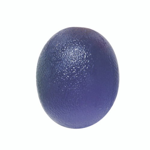 CanDo¨ Gel Squeeze Ball - Large Cylindrical - Blue - Heavy