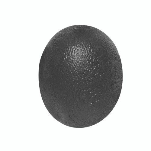 CanDo¨ Gel Squeeze Ball - Large Cylindrical - Black - X-Heavy