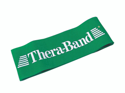 """TheraBand¨ exercise loop - 8"""" - Green - heavy"""