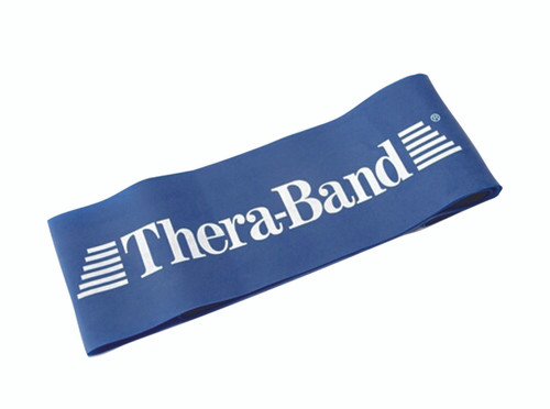"""TheraBand¨ exercise loop - 12"""" - Blue - extra heavy"""