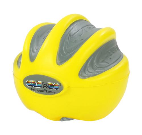 CanDo¨ Digi-Squeeze¨ hand exerciser - Small - Yellow, x-light